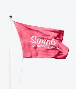 Företagsflaggor (Screentryckta)